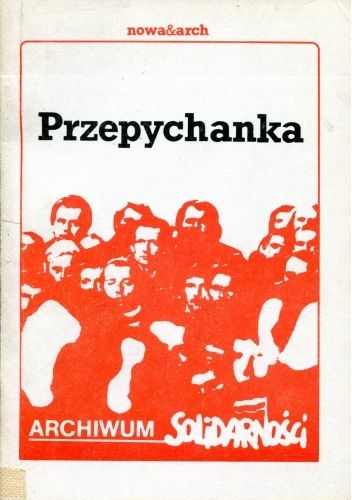 Okładka książki Przepychanka Jacek Cieszewski