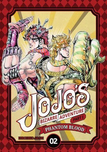 Okładka książki JoJo's Bizarre Adventure: Part 1 - Phantom Blood, tom 2 Hirohiko Araki