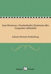 Okładka książki Jana Hermana z Neydenburku Ziemianin albo Gospodarz inflandski