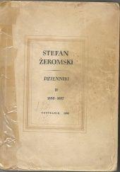 Okładka książki Dzienniki Tom II Stefan Żeromski