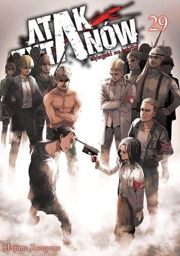Okładka książki Atak Tytanów #29 Isayama Hajime
