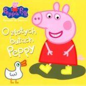 Okładka książki Peppa Pig. Opowieści na dobranoc. O złotych butach Peppy
