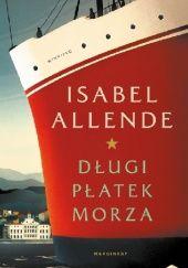 Okładka książki Długi płatek morza Isabel Allende