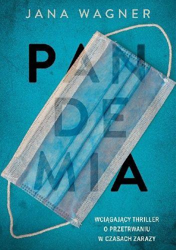 Okładka książki Pandemia Jana Wagner