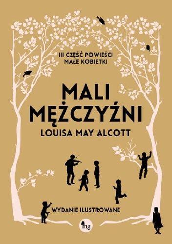 Okładka książki Mali mężczyźni Louisa May Alcott