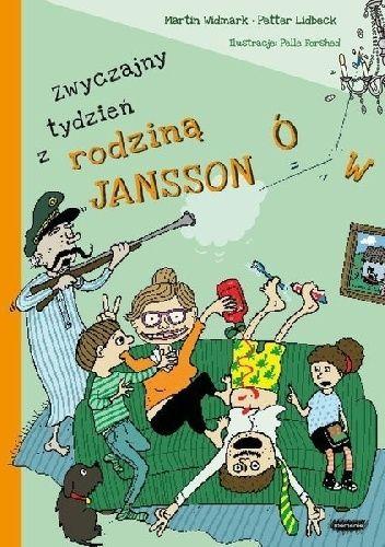 Okładka książki Zwyczajny tydzień z rodziną Janssonów Pelle Forshed,Petter Lidbäck,Martin Widmark