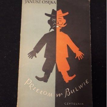 Okładka książki Przełom w Bulwie Janusz Osęka