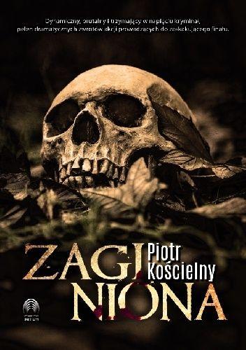 Okładka książki Zaginiona Piotr Kościelny