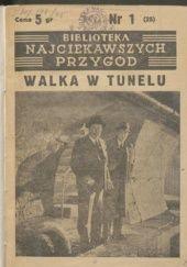 Okładka książki Walka w tunelu