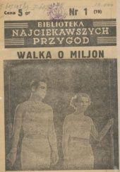 Okładka książki Walka o milion