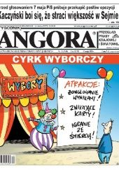 Okładka książki Angora 19/2020 redakcja Tygodnika Angora