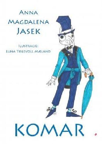 Okładka książki Komar Anna Magdalena Jasek