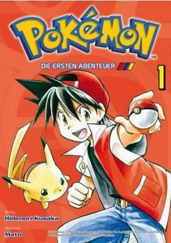 Okładka książki Pokémon - Die ersten Abenteuer 1 Hidenori Kusaka,Mato