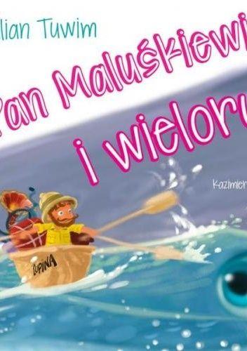 Okładka książki Pan Maluśkiewicz i wieloryb Julian Tuwim