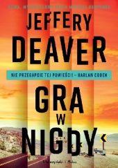 Okładka książki Gra w nigdy Jeffery Deaver
