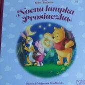 Okładka książki Nocna lampka Prosiaczka Małgorzata Strzałkowska