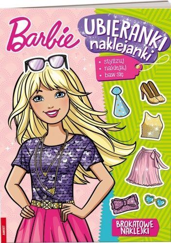 Okładka książki Barbie™. Ubieranki, naklejanki praca zbiorowa