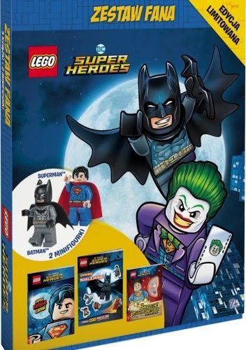 Okładka książki ZESTAW FANA. LEGO® DC Super Heroes praca zbiorowa