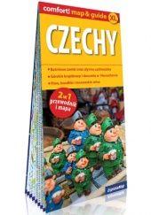 Okładka książki Czechy; laminowany map&guide XL (2w1: przewodnik i mapa)