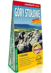 Okładka książki Góry Stołowe; laminowana mapa turystyczna; 1:60 000