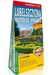 Okładka książki Lubelszczyzna. Roztocze, Polesie; laminowana mapa turystyczna 1:175 000