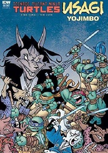 Okładka książki Teenage Mutant Ninja Turtles/ Usagi Yojimbo Stan Sakai