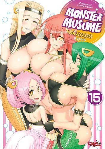 Okładka książki Monster Musume #15 OKAYADO