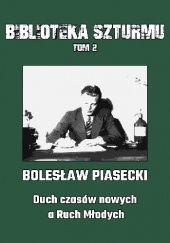 Okładka książki Duch czasów nowych a Ruch Młodych Bolesław Piasecki