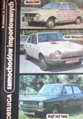 Okładka książki Obsługa samochodów importowanych - Dacia 1300 Fiat Ritmo 65  Fiat 127/1050