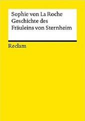 Okładka książki Historia panny von Sternheim Sophie von La Roche