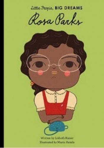 Okładka książki Rosa Parks Marta Antelo,Lisbeth Kaiser,Maria Isabel Sanchez Vegara