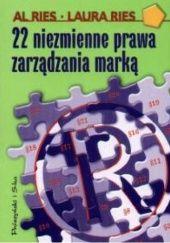 Okładka książki 22 niezmienne prawa zarządzania marką Al Ries,Laura Ries