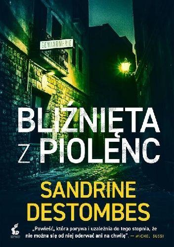 Okładka książki Bliźnięta z Piolenc Sandrine Destombes