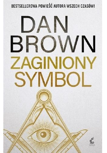 Okładka książki Zaginiony symbol Dan Brown