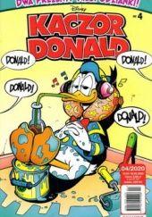 Okładka książki Kaczor Donald, nr 4 (1005) / 2020