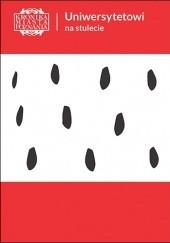 Okładka książki Uniwersytetowi na stulecie KMP 1/2019