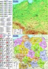 Okładka książki Polska. Mapa ogólnogeograficzna i administracyjno-samochodowa