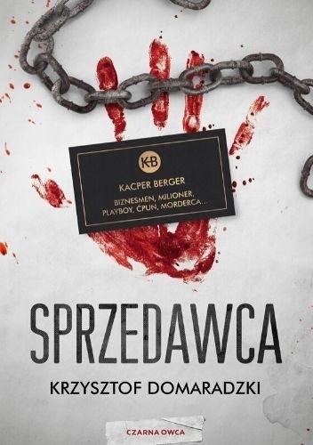 Okładka książki Sprzedawca Krzysztof Domaradzki