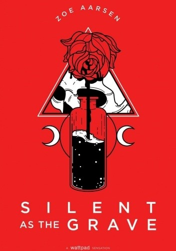Okładka książki Silent as the grave Zoe Aarsen