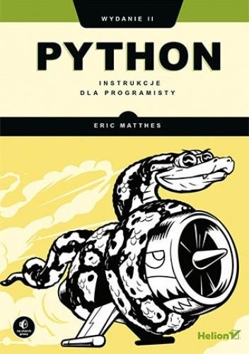 Okładka książki Python. Instrukcje dla programisty. Wydanie II Matthes Eric