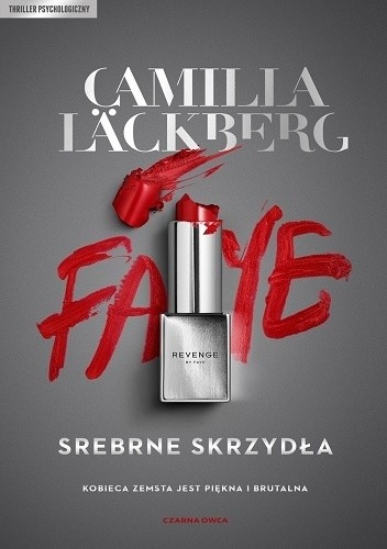 Okładka książki Srebrne skrzydła Camilla Läckberg