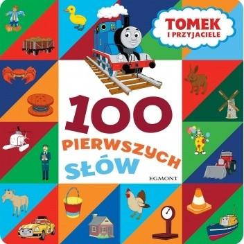 Okładka książki 100 pierwszych słów. Tomek i przyjaciele praca zbiorowa