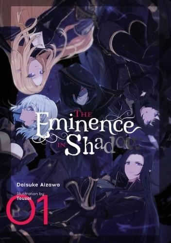 Okładka książki The Eminence in Shadow, Vol. 1 (light novel) Daisuke Aizawa,Touzai