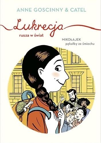 Okładka książki Lukrecja rusza w świat Anne Goscinny