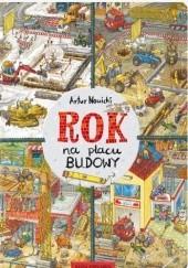 Okładka książki Rok na placu budowy