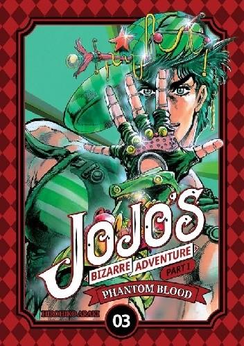 Okładka książki JoJo's Bizarre Adventure: Part 1 - Phantom Blood, tom 3 Hirohiko Araki