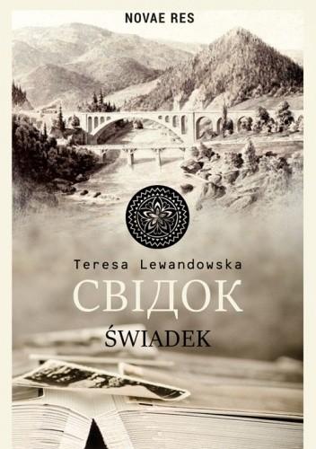 Okładka książki Świadek Teresa Lewandowska