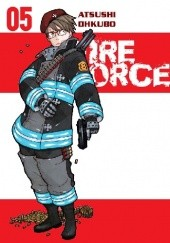 Okładka książki Fire Force #5