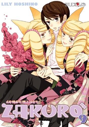 Okładka książki Demon Maiden Zakuro t.9 Lily Hoshino