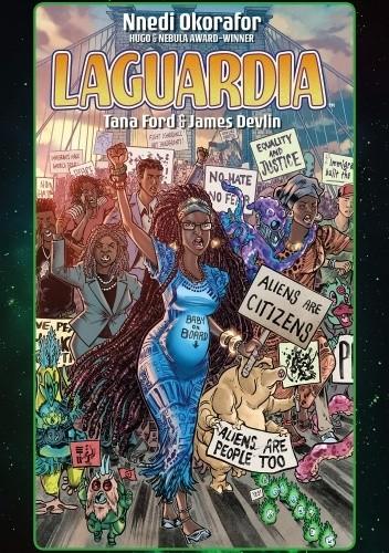 Okładka książki LaGuardia Tana Ford,Nnedi Okorafor